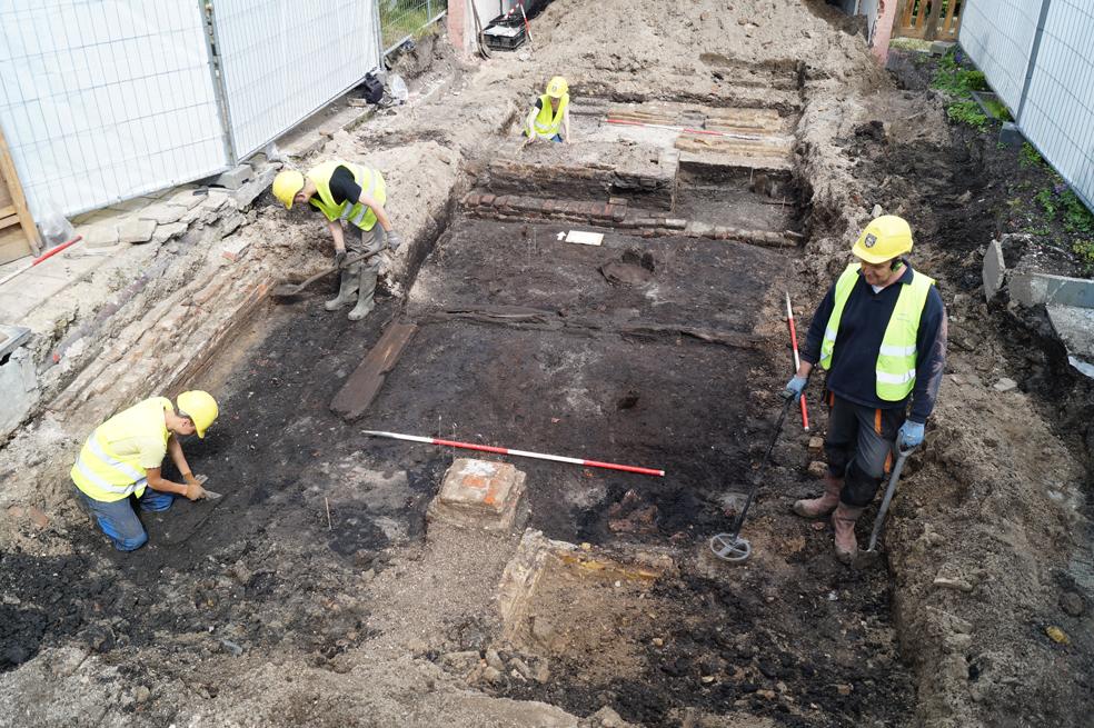 Meer bijzondere vondsten bij opgraving Appelhaven
