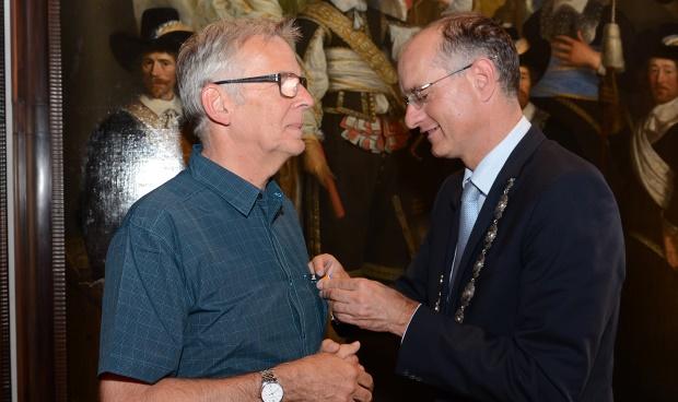 Koninklijke onderscheiding voor Han Runnenberg