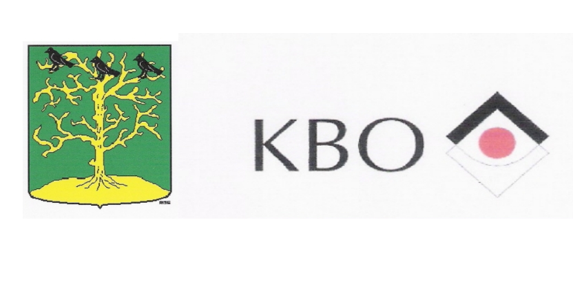 Eenhoornzegel voor 50 jaar KBO Blokker