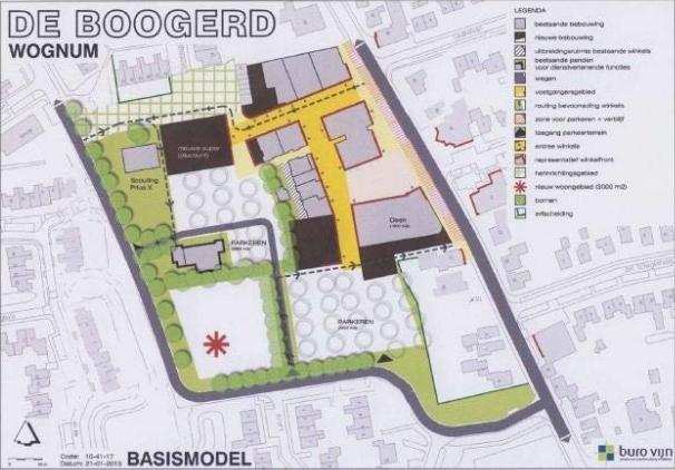 Winkelgebied de Boogerd in Wognum verder in ontwikkeling