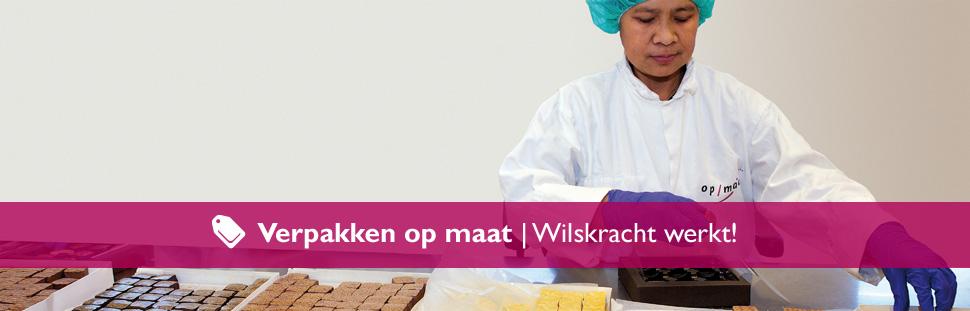 Op/Maat gecertificeerd voor verpakken bio producten