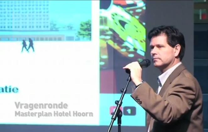 Terug naar begin van hotel, bios en casino in Hoorn [2010 video]