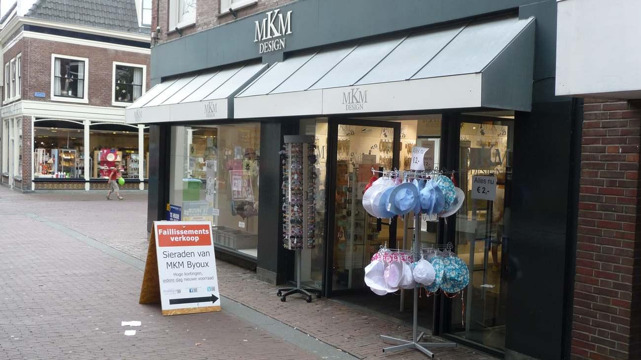 Boedelverkoop mkm Design beëindigd, negen winkels dicht