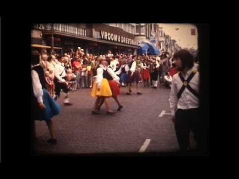 Video: Folklore optocht door centrum Hoorn (1972)