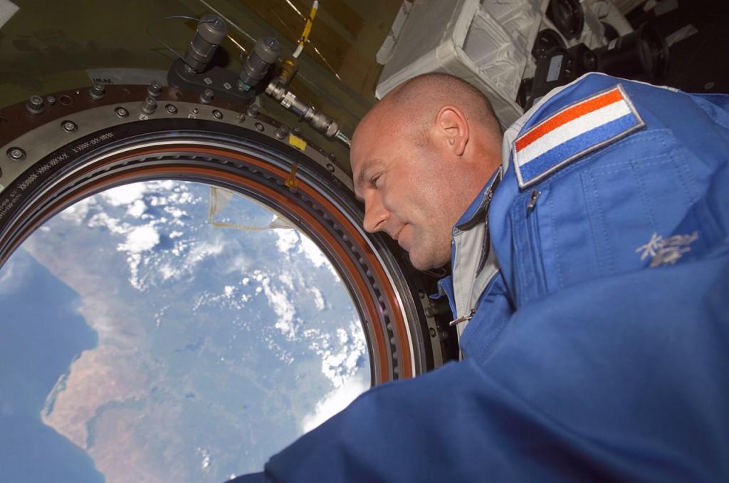 André Kuipers april 2015 in Het Park: 'Ontdekkingsreiziger 2.0'