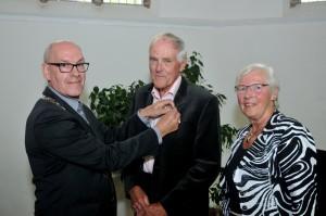 Koninklijk onderscheiding voor supervrijwilliger Cor Molenaar