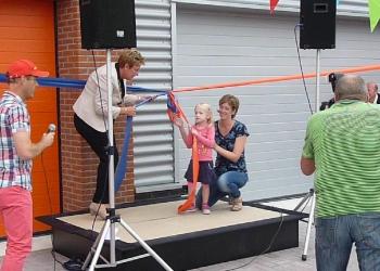 Clubgebouw Reddingsbrigade en Kanovereniging geopend
