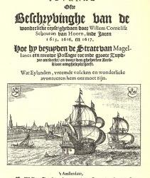 Raad stelt budget beschikbaar voor 400 jaar Kaap Hoorn