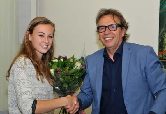 Drechterland huldigt atlete Nadine Visser