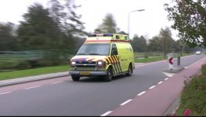 Motorrijder gewond bij aanrijding Vale Hen