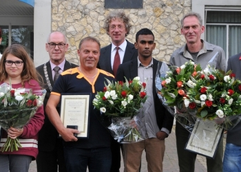 Drechterland eert redders
