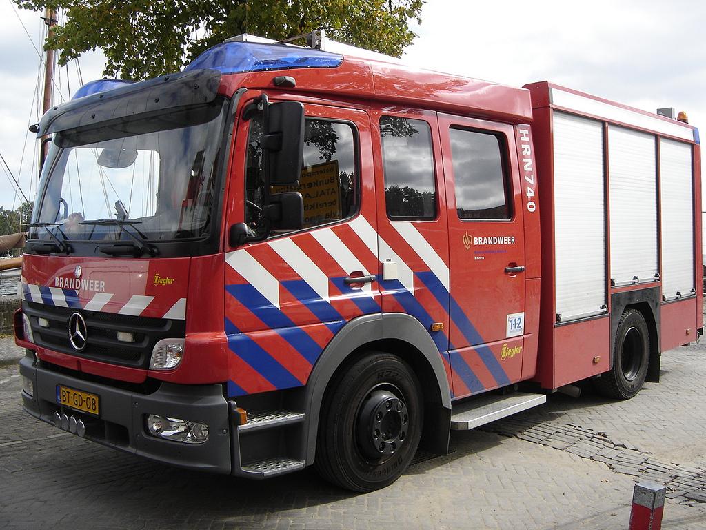 Help de brandweer sneller bij de brand
