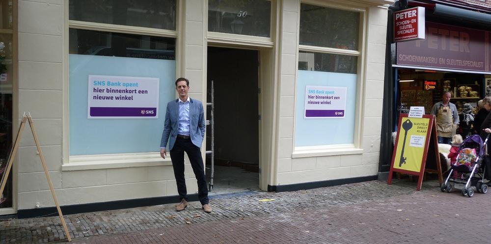 SNS franchiser opent winkel in winkelrondje Hoorn