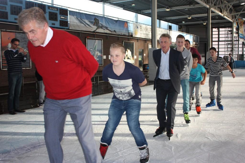 Rabobank en Westfriese Sportverkiezing schaatsend naar nieuw contract