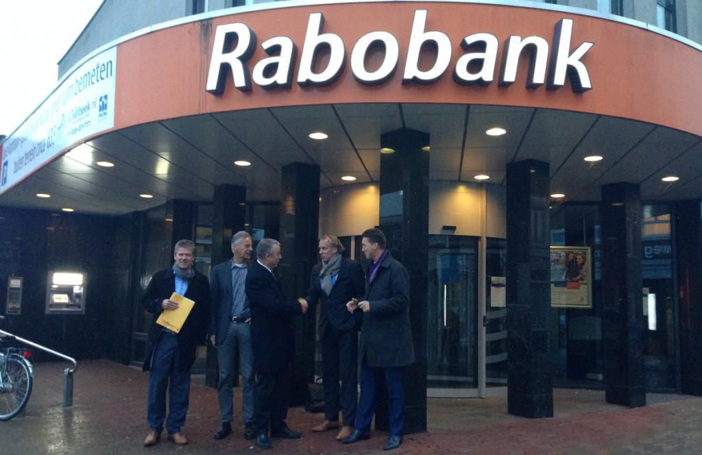 Servicepunt Enkhuizen in oud bankkantoor Rabobank