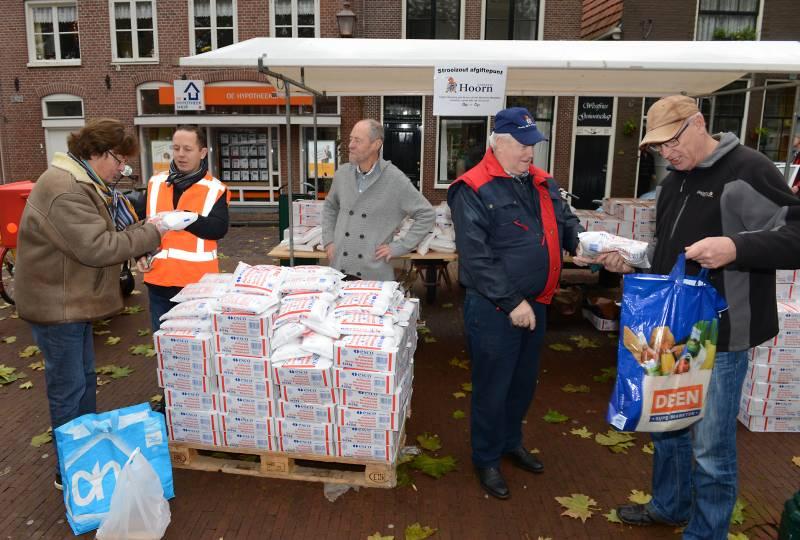 Gratis strooizout voor inwoners Hoorn