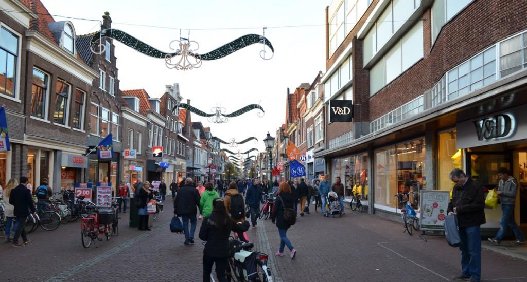 Winkelen en parkeren feestdagen in binnenstad Hoorn