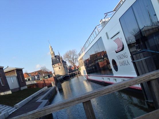 331 aanvragen riviercruisschepen voor Hoornse haven