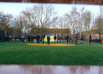 Cruyff Court in wijk Bangert en Oosterpolder in Zwaag