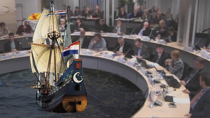 Raad stemt voor Halve Maen naar Hoorn
