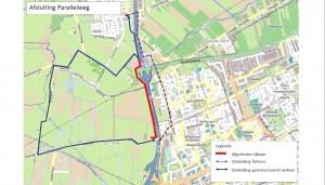 Tijdelijke afsluiting fietspad Rijsdampad en Parallelweg Hoorn-Wognum