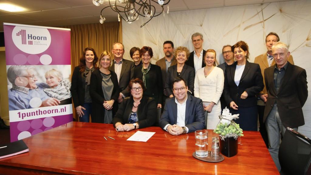 Gemeente en zorgpartners ondertekenen Convenant Gebiedsgericht werken