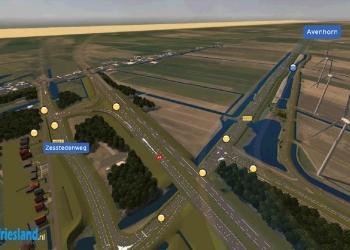 Extra ruimte voor werkzaamheden N23 Westfrisiaweg