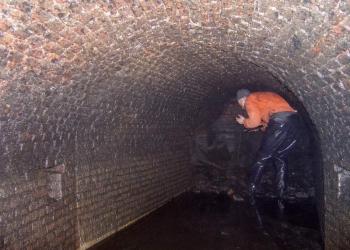 Oude tunnel in binnenstad Hoorn ontdekt