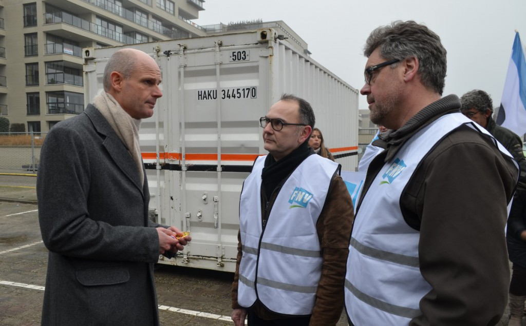 FNV Overheid vraagt aandacht minister Stef Blok [+video]