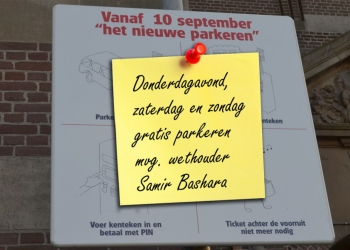 Donderdagavond en dit weekend gratis parkeren Hoorn