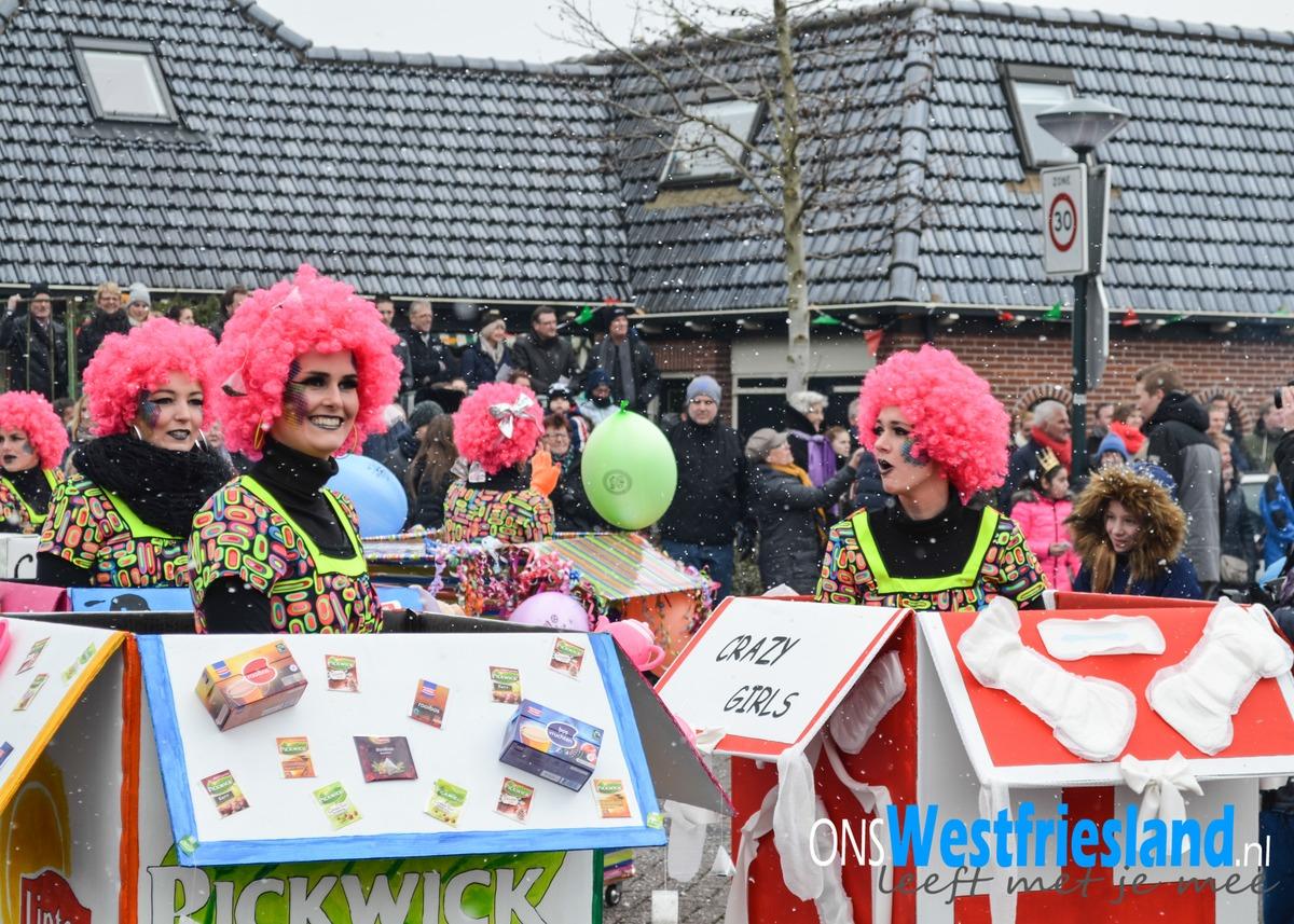 Foto's Grote carnavalsoptocht van Zwaag
