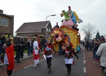 De Wicky's dubbel winnaar van Zwaagse carnavalsoptocht