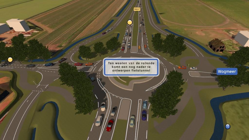 Koggenland: ' € 775.000 krediet voor fietstunnel Wogmeer'