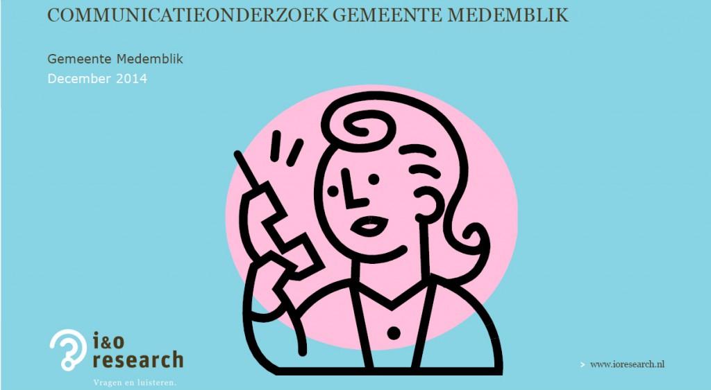 Communicatie gemeente Medemblik scoort een 6.2