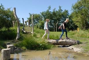 Natuurspeeltuin in het Kreekbos in Wognum