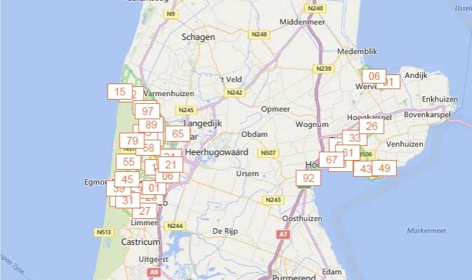 Wandelen in Noord Holland met hulp van website en nieuwe App