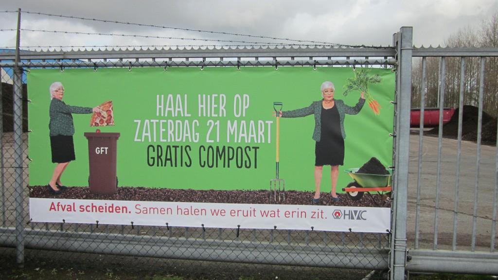 Gratis compost af te halen in wijk Bangert en Oosterpolder