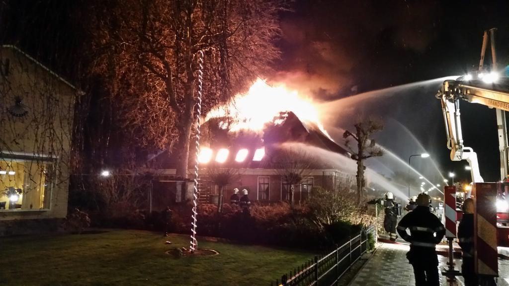 Politie: Bewijs voor brandstichting boerderij Nico V.
