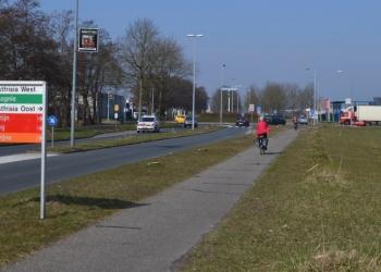 Verkeerslichten in plaats van rotonde Factorij/Oostergouw/Compagnie