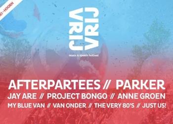 Eerste namen Vrij Festival Hoorn bekend