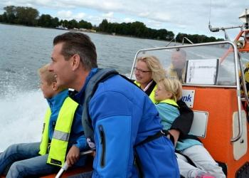 In de huid van een echte redder op Reddingbootdag