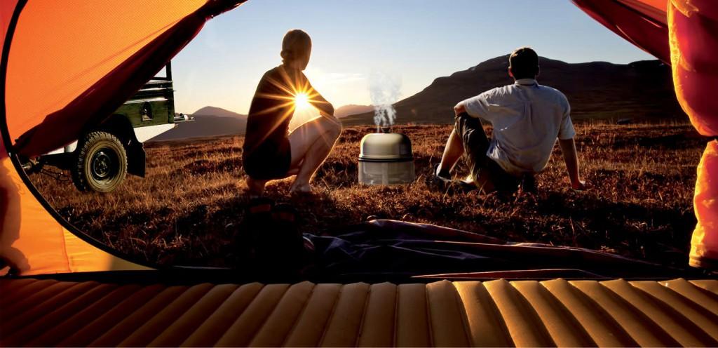 Camping by Night tijdens Demo Dagen Karsten travelstore