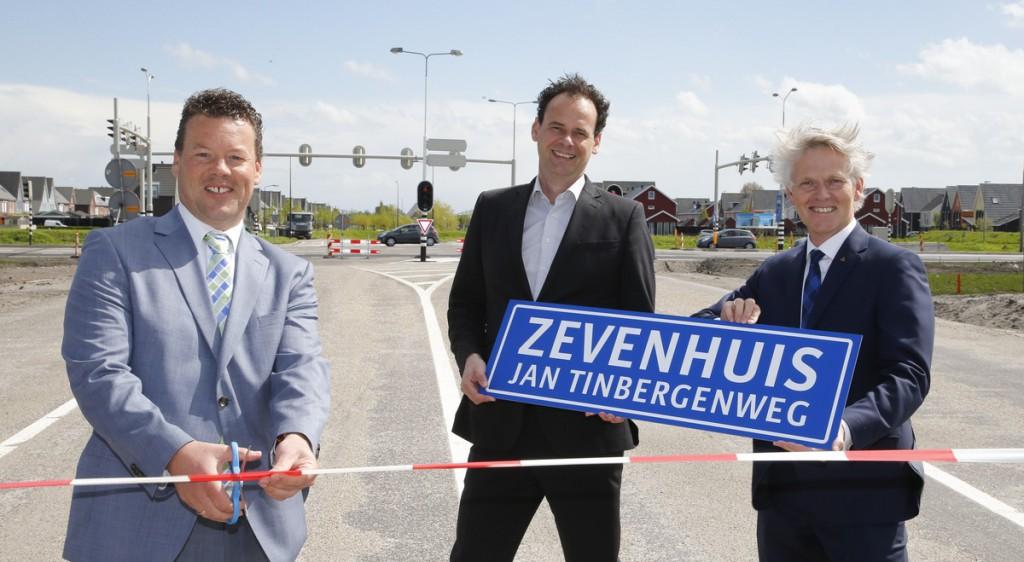 Bedrijventerrein Zevenhuis aangesloten op N23 Westfrisiaweg