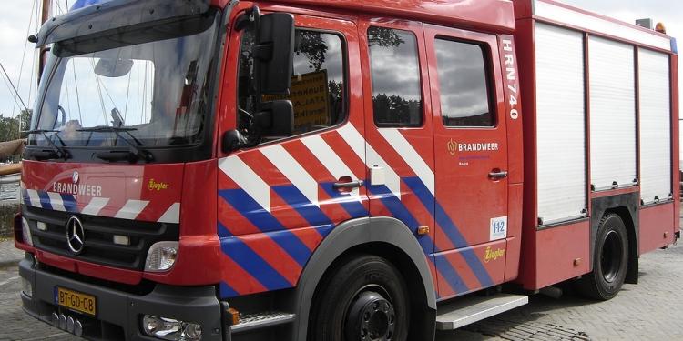 Brandmelding bij Deen Verscentrum Hoorn