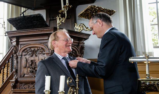 Koninklijke onderscheiding voor Johan de Vries