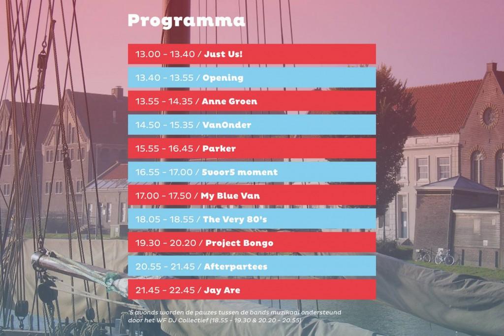 Vrijhoorn festival in Hoorn van start (update)