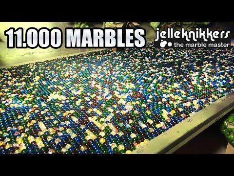 Jelle Bakker heeft 1.5 miljoen views met knikkerbaan XL