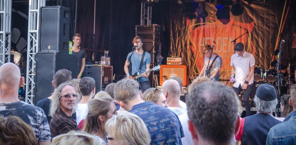 Helden van Westfriesland 2015; Zonnig festival op eigen plekje