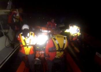 Nachtelijke zoekactie naar vermist bootje bij Hoorn