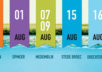 Waterweek Opmeer: Wandelen en varen langs historische vaarroute